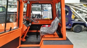 Upgraded seats and safety equipment available