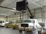 FMC, Gasoline Aircraft Deicer Truck; Open Basket