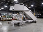 Aircraft Air Stairs, Electric Assisted Towable Aircraft Stairs, 96- 220 inches, Widebody Service Height