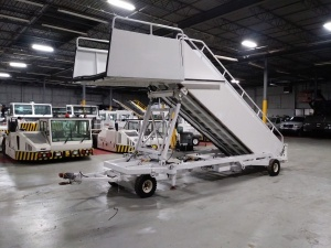 AMSS Electric Assist Towable Aircraft Stairs