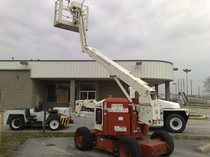 Snorkel gas/propane man lift