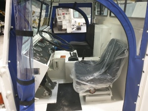Simmons-Rand Paymover T400 operator's cabin