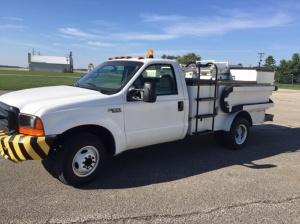 Wollard lav truck with lift