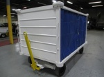 Warehouse/ Industrial Tugs and Material Carts, Used Bentz Baggage Cart; Covered; 5,000-lbs Capacity