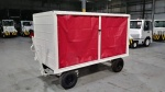 Warehouse/ Industrial Tugs and Material Carts, Used Bentz Baggage Cart; 5,000-lbs Capacity