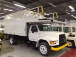 Aircraft Catering Trucks, F800 Aircraft Catering Truck, 116-Inch Lift