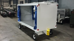 Parkan Covered Baggage Cart; CBC 5010