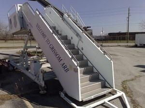 Stinar boarding passenger stairs
