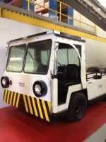 Tug, Used Propane Powered Light Aircraft Tug/ Baggage Tractor/ Warehouse Tractor, 4,000 lbs DBP